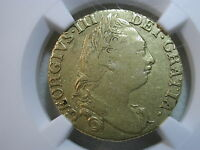 1784 GREAT BRITAIN GUINEA GEORGE III KM 604 NGC VF 20 GOLD
