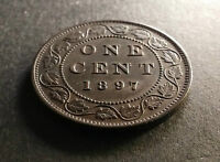 1897 VICTORIA LARGE CENT   MINT STATE