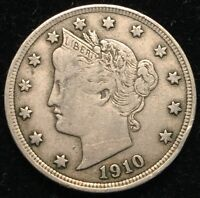 1910 5C LIBERTY NICKEL