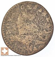 1787 NEW JERSEY SHIELD COPPER CENT 648