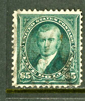 US STAMPS  263 FVF LT. CANCEL DEEP COLOR FRESH SCOTT VALUE $2,750.00