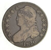 1826 CAPPED BUST HALF DOLLAR Z37