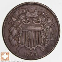 1864 TWO CENT PIECE 1721