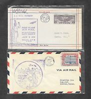 UNITED STATES U S 12 DIFFERENT FIRST FLIGHT COVERS 1930'S 14