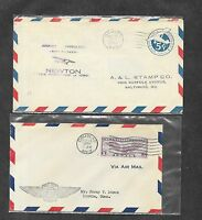 UNITED STATES U S 12 DIFFERENT FIRST FLIGHT COVERS 1930'S 15