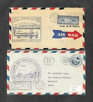 UNITED STATES U S 12 DIFFERENT FIRST FLIGHT COVERS 1930'S 18