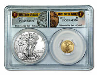 2017 AMERICAN SILVER AND GOLD EAGLE