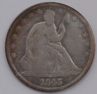 1843 SEATED LIBERTY HALF DOLLAR A70