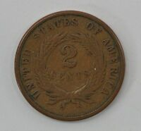 1870 TWO CENT PIECE Q57