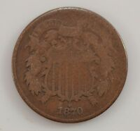 1870 TWO-CENT PIECE G32
