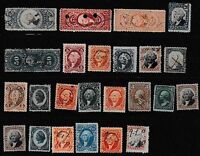 US LOT OF REVENUE STAMPS