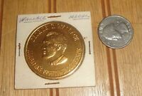 VINTAGE 1960'S GOVERNOR GEORGE C. WALLACE GOLD COLOR 1.5