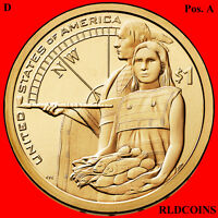 2014 D SACAGAWEA NATIVE AMERICAN UNCIRCULATED DOLLAR POS A