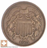 1865 TWO CENT PIECE YB61