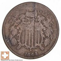 1864 TWO CENT PIECE 1743