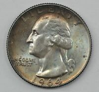 1964 D WASHINGTON SILVER QUARTER DOLLAR Q13