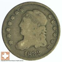 1832 CAPPED BUST HALF DIME XB66