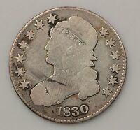 1830 CAPPED BUST HALF DOLLAR G62
