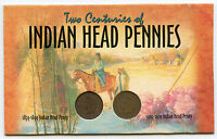 1899 & 1907 INDIAN HEAD CENT PENNIES COIN SET   TWO CENTURIES   AJ764
