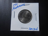 2013 D: MT. RUSHMORE SD.  AMERICA THE BEAUTIFUL QUARTER 225