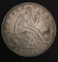 1855 LIBERTY SEATED HALF DOLLAR WITH ARROWS