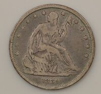 1859 P SEATED LIBERTY SILVER HALF DOLLAR G87