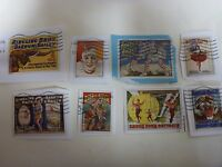 CIRCUS COMMEMORATIVE STAMPS 100 RANDOM MIX USED ON PAPER