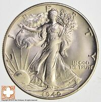 1940 S WALKING LIBERTY HALF DOLLAR 90 SILVER 9564