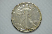 1940 S WALKING LIBERTY SILVER HALF DOLLAR BB872