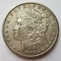 1900 P MORGAN SILVER DOLLAR 17MD087