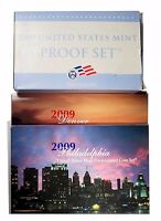 2009 US MINT CLAD PROOF & UNCIRCULATED COIN SET   LOT OF 3 SETS