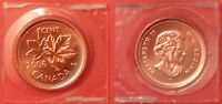 PROOF LIKE 2006P CANADA MAGNETIC 1 CENT SEALED IN CELLO