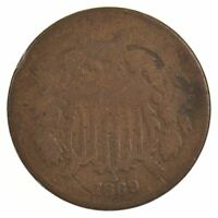 1869 TWO-CENT PIECE J86