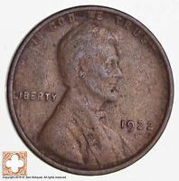1922 D LINCOLN WHEAT CENT 3003