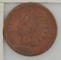 1865 INDIAN HEAD ONE CENT 604