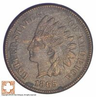 1865 INDIAN HEAD CENT   CIVIL WAR ERA YB72