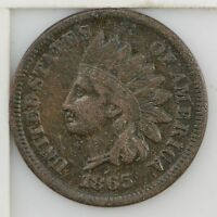 1865 INDIAN HEAD ONE CENT Z97