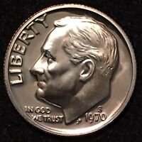 1970 S 10C PROOF ROOSEVELT DIME