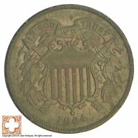 1864 TWO CENT PIECE XB59