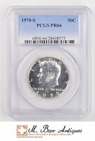 PR66 1970 S KENNEDY HALF DOLLAR   GRADED PCGS 1987