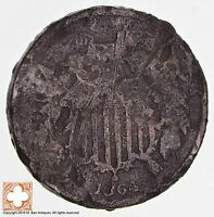 1864 TWO CENT PIECE 1709