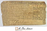 1774 1/3 DOLLAR MARYLAND COLONIAL CURRENCY 394