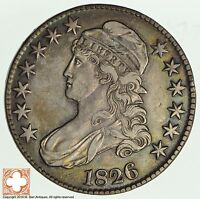 1826 CAPPED BUSTED HALF DOLLAR 2011