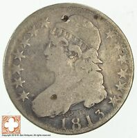 1813 CAPPED BUSTED HALF DOLLAR 1796
