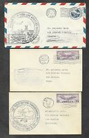 12 UNITED STATES FIRST FLIGHT COVERS 1930'S 2
