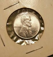 1 COIN 1943 P  STEEL LINCOLN  WHEAT PENNY UNCIRCULATED  BN87329