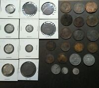 GREAT BRITAIN 30 COIN LOT 1800'S 1900'S SILVER READ DESCRIPTION FOR LIST