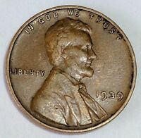1939 WHEAT CENT   NICE COIN