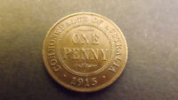 PENNY 1915H AU CURRENT PRICE $1600