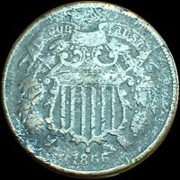 1866 2 CENT  BROWN TONE248 EXTRA FINE /VF